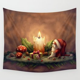 Light a Candle Wall Tapestry