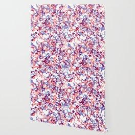 broken, red and blue Wallpaper