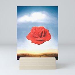 Salvador Dali - Meditative Rose - 1958 Restored Artwork for Wall Arts, Prints, Posters, Tshirts, Men, Women, Kids Mini Art Print
