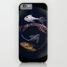 YIN AND YANG- BLACK iPhone 6s Slim Case