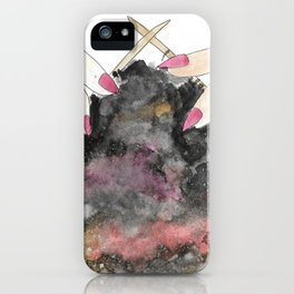 Knitting space iPhone Case
