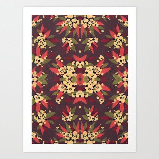 Pattern 003 Art Print