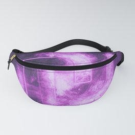 Israeli Shekel currency symbol. Shekel Sign. Monetary currency symbol. Abstract night sky background Fanny Pack