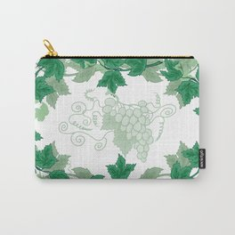 Abstract frame from grapevines Carry-All Pouch