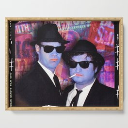 Blues Brothers Red Serving Tray