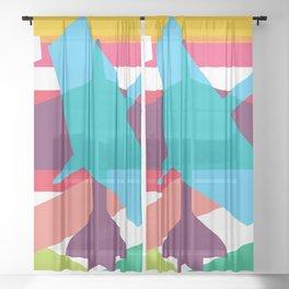 Aviation Sheer Curtain
