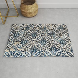 Azulejo IX - Portuguese hand painted tiles Rug