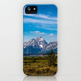 Teton Mountains iPhone Case