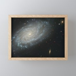 Spiral Galaxy, NGC 3370 Framed Mini Art Print