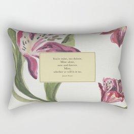 You're mine...Jamie Fraser. Outlander. Rectangular Pillow