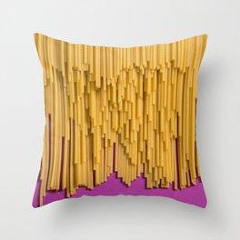Spaghetto Quadrato Throw Pillow
