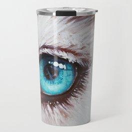 Husky's eye Travel Mug