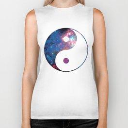 Ying Yang Galaxy Cosmic Biker Tank