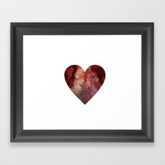 Heart Love Framed Art Print