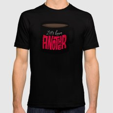 Let's Have Another Cup of Coffee Mens Fitted Tee Black MEDIUM