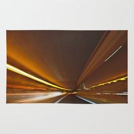 Traffic in warp speed Rug