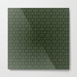 Kale Floral Metal Print