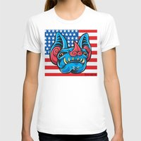 patriotic T-shirts featuring Patriotic Bat by Madison Cowles