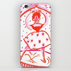 Valentine on Ice iPhone & iPod Skin