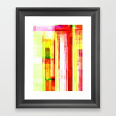 Hex VII Framed Art Print