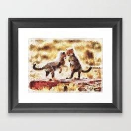 Euforia Selvagem Framed Art Print