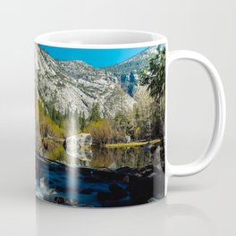 Mirror lake, Yosemite, CA. Coffee Mug