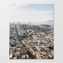Fall in San Francisco Canvas Print