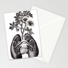 Flourishing Lungs Stationery Cards