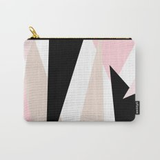 Blush Mod Triangles 2 Carry-All Pouch