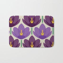 Crocus Flower Bath Mat