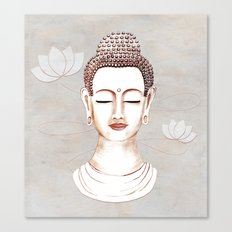 Buddha Concentrate Canvas Print
