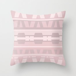 Strawberry Sorbet With Cream Throw Pillow