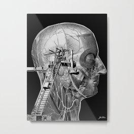 head works Metal Print