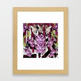 Gargoyle Gala Framed Art Print