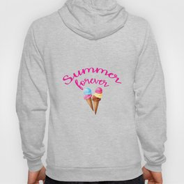 Summer forever with icecream Hoody
