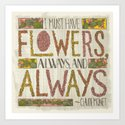 I Must Have Flowers, Always, and Always (Grow Free Series) by jenmontgomery