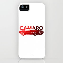 Chevrolet Camaro SS -classic red - iPhone Case