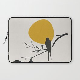 Bird and the Setting Sun Laptop Sleeve