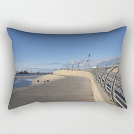 Blackpool seafront Rectangular Pillow