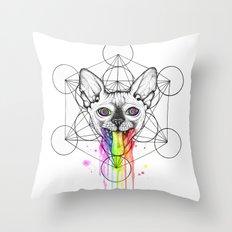 Psica logo Throw Pillow