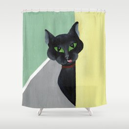 Mom, I am Hungry. Shower Curtain