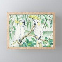 Saffron Cockatoo Framed Mini Art Print