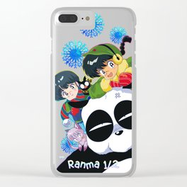 Ranma 1/2 Winter Edition Clear iPhone Case