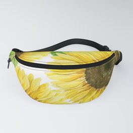 Sunflowers watercolor Fanny Pack