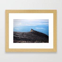 Mt Kinabalu // Borneo Framed Art Print