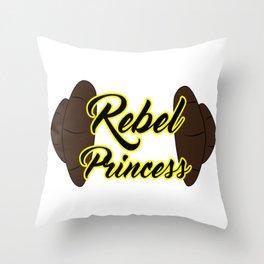 Rebel Princess Throw Pillow