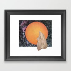 Death Of Planet Framed Art Print