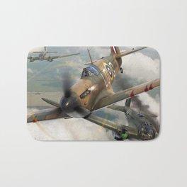 Spitfire vs He111 Bath Mat