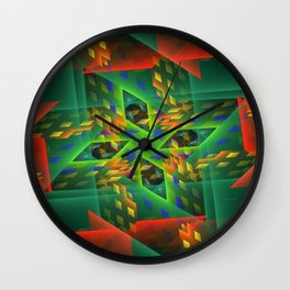 Digital Illusion Wall Clock