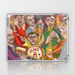 All That Jazz  - New Orleans Jazz Band Laptop & iPad Skin